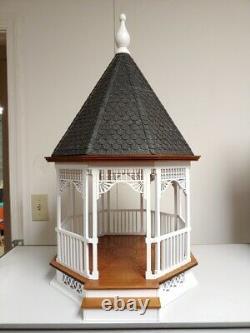 Large Victorian Gazebo 112 Dollhouse Kit