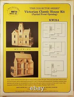 Large Wood Dollhouse Kit