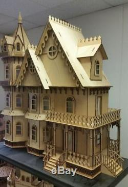 Leon Gothic Victorian Mansion Dollhouse 112 (New for 2015)
