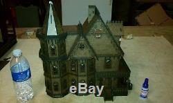 Leon Gothic Victorian Mansion Dollhouse Quarter / 148 scale Kit