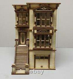 Lisa Painted Lady San Francisco Garage/French Door Kit 148 scale Dollhouse