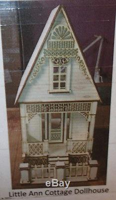Little Ann Victorian Cottage 112 Scale Dollhouse DIY Kit