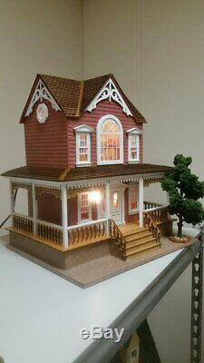 Little Briana Country Victorian Cottage 124 Scale Dollhouse WITH Shingles