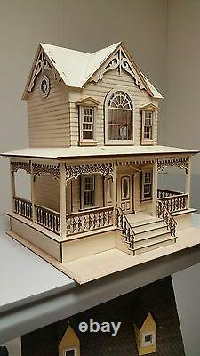 Little Briana Country Victrorian Cottage 124 Scale Dollhouse NO Shingles