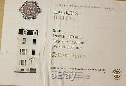 Lofty Laurels Dolls Town House Flat Pack Space Saving 112 Scale MDF Wood Kit