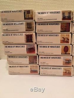 Lot39 HOUSE OF MINIATURES Furniture KitsNEWChippendaleQueen AnneHOMX-Acto