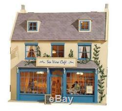 Magpies Dolls House Victorian Shop Pub Cafe Unpainted Flat Pack Kit 112 Scale