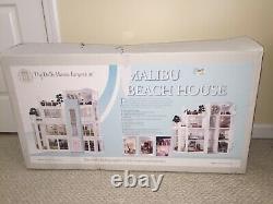 Malibu Beach House-Diy Dollhouse Kit
