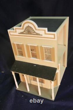 Market Place 1 Inch Scale Dollhouse Kit Laser Cut