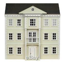 Mayfair Georgian Dolls House Painted Flat Pack Kit 112 Scale