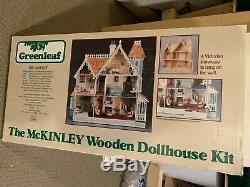 McKinley dollhouse kit wall dollhouse kit cottage dollhouse kit