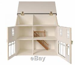 Melody Jane Dolls House 112 To Assemble Unpainted MDF Victorian Cafe Kit