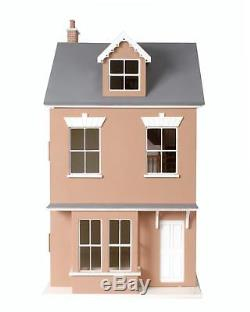 Melody Jane Dolls House 112 Welsh Terrace Dolls House Flat Pack MDF Wood Kit