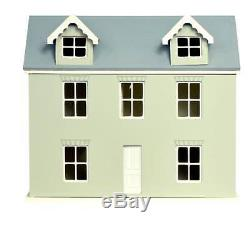Melody Jane Dolls House 124 Kit Ready to Assemble Unpainted Flat Pack Cottage