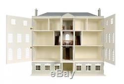 Melody Jane Dolls House Country Manor with 8 Rooms & Basement 112 MDF Kit