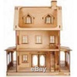 Melody Jane Dolls House Miniature 124 Abriana Country Cottage Flat Pack Kit