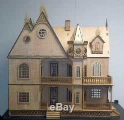 Melody Jane Jasmine Gothic Victorian Dolls House Flat Pack Laser Cut Kit