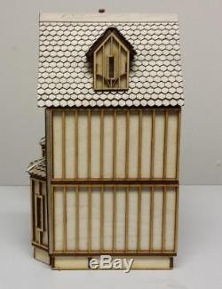 Melody Jane Kristiana Tudor Dolls House 148 Scale Lazer Cut Flat Pack Kit
