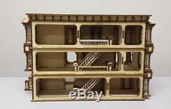 Melody Jane Lisa San Francisco Dolls House 148 Scale Lazer Cut Kit Flat Pack