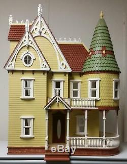Melody Jane Mirabella Victorian Dolls House 112 Lazer Cut Flat Pack Kit