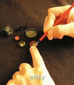 Miniature Craft Kit Japanese Lacquerware Shop Large Sousaku Rakuza MADE IN JAPAN