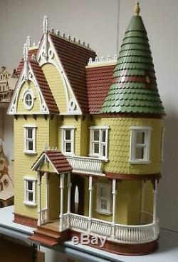 Mirabella Victorian Dolls House 112 Laser Cut Kit