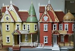 Mirabella Victorian Mansion 112 scale Dollhouse Kit