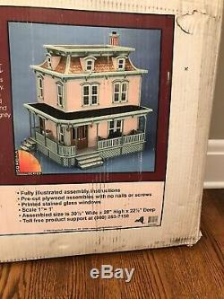 Model Greenleaf Dollhouses #9304 Lily All Wood Dollhouse New In Box
