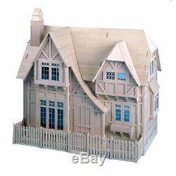 NEW! Greenleaf Glencroft Dollhouse Kit