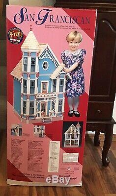NIB Vintage 1994 Dura-Craft San Franciscan Dollhouse SF 555 New Complete Kit