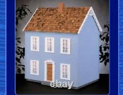 New! Vintage The Simplicity Real Good Toys Front Opening Dollhouse Wood