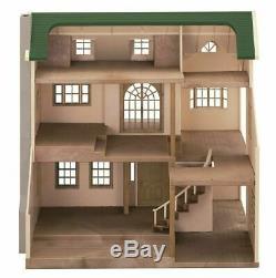 Nice Green Hill House Sylvanian Families House Ha-35 (EPOCH)