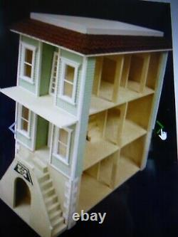 Palmetto 1 Inch Scale Dollhouse Kit By Majestic Mansions