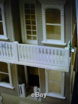 Palmetto 1 Inch Scale Dollhouse Kit Laser Cut