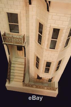 Park Avenue 1 Inch Scale Dollhouse Kit Laser Cut
