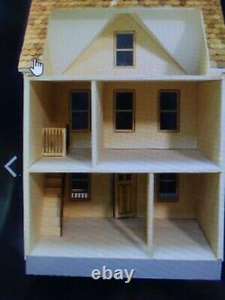 Penny Lane 1 Inch Scale Dollhouse Kit By Majestic Mansions