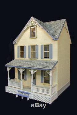 Penny Lane 1 Inch Scale Dollhouse Kit Laser Cut