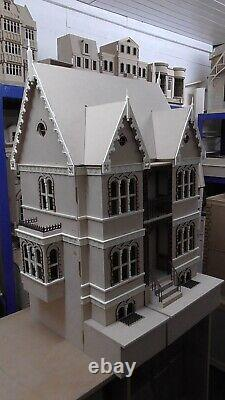 Penrith House Kit Flat packed Unpainted. Dolls House Direct