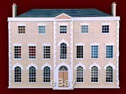 Preston Manor Dolls House 112 Scale Unpainted Dolls House Kit