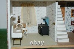 Price Drop! Brick Colonial Dollhouse 5 Rms Furnished Inc Grand Piano