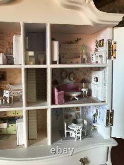 RARE Artisan J. E. DUTCH BABY HOUSE BESPAQ CABINET 112 Miniature Dollhouse