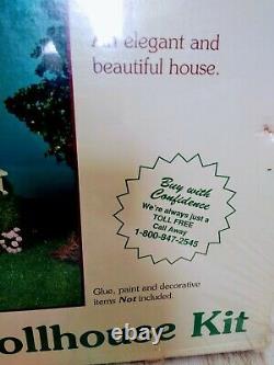 RARE Greenleaf The Willowcrest Wooden Dollhouse Kit # 8005 NIB