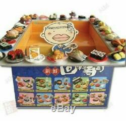 RARE Re-ment Miniature Revolving Sushi Japanese Bar Set NIB 1 box of 10sets