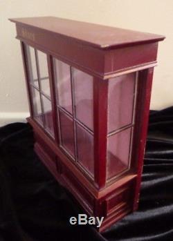 RARE Vintage English Borcraft Shop Window Dollhouse Miniature Kit NIP