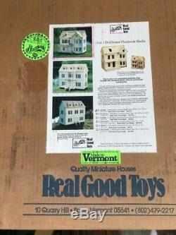 REAL GOOD TOYS VICTORIAN DOLLHOUSE KIT 1/12th SCALE