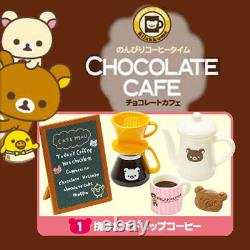 Rare 2012 Re-Ment Rilakkuma Chocolate Cafe Full Set of 6 pcs