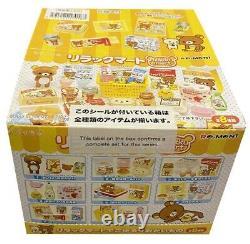 Rare 2012 Re-Ment Rilakkuma Supermarket Full Set of 8 pcs Barbie