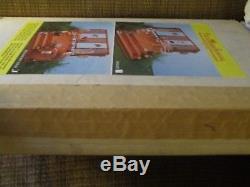 Rare Unopened Doll House Miniature. Deck & Hot Tub Kit. Rare. Large Box Sealed