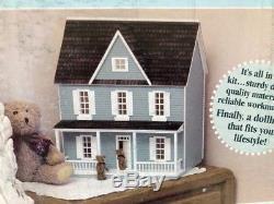 Real Good Toys 1/2 inch scale Farmhouse dollhouse kit NIB