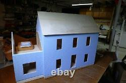 Real Good Toys 1 Inch Scale Hillcrest partial finished Dollhouse Kit #1016 Rare
